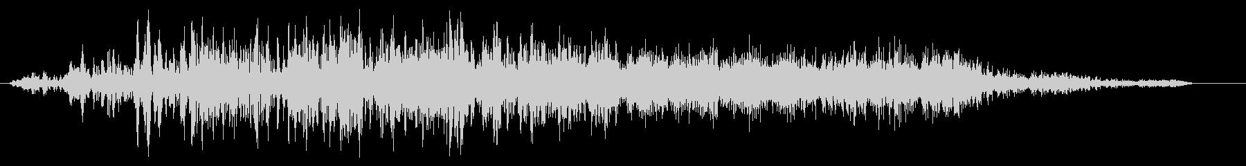 ビュイーン(ワープやスタートの効果音)の未再生の波形