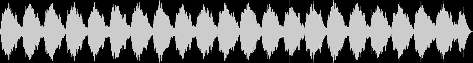 ホラー・緊張感・ナレーション・ドキドキの未再生の波形