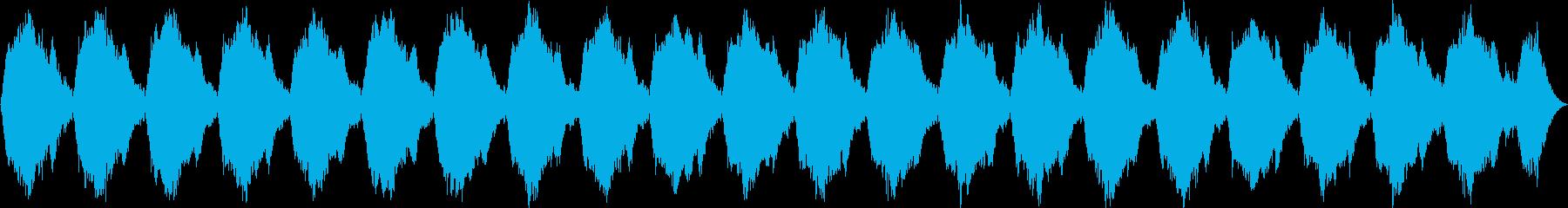 ホラー・緊張感・ナレーション・ドキドキの再生済みの波形