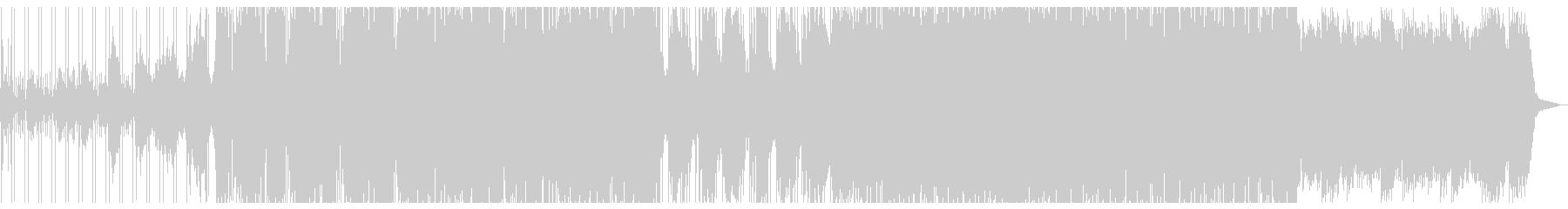 しっとりとしたハーフタイムドラムンベースの未再生の波形