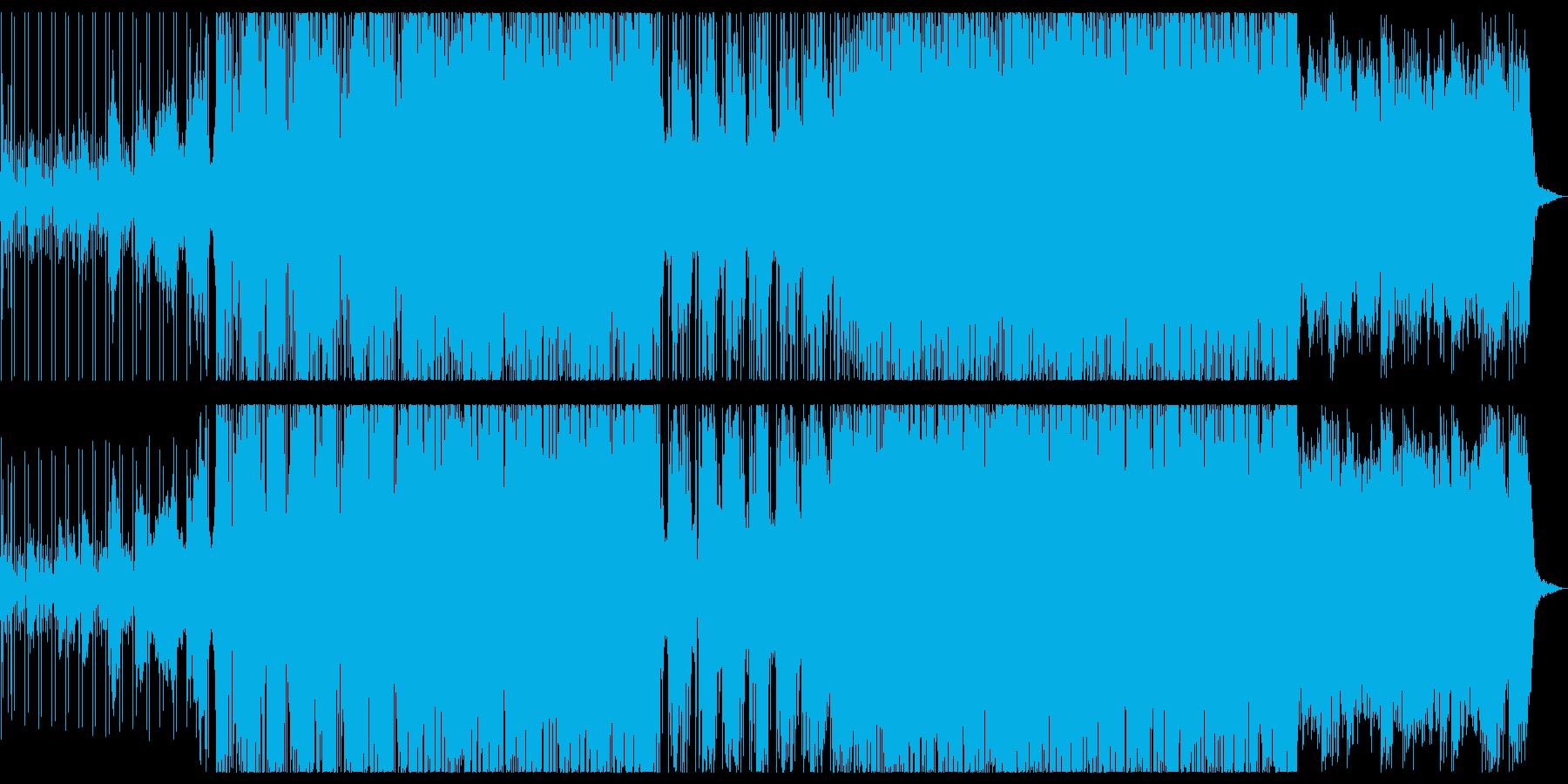 しっとりとしたハーフタイムドラムンベースの再生済みの波形