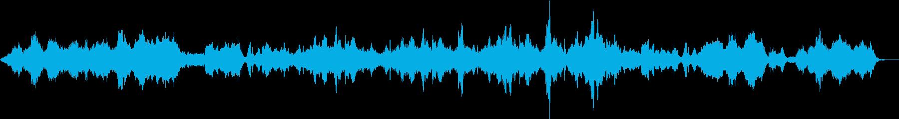 ゆったりしたストリングスアンサンブルの再生済みの波形