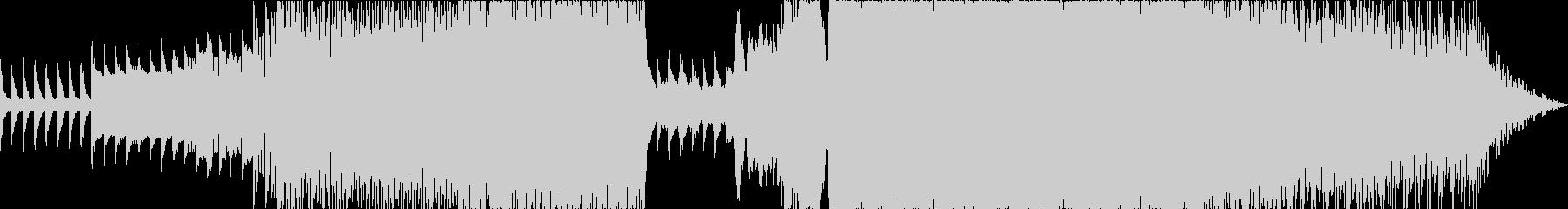 シンセパッドなしの未再生の波形