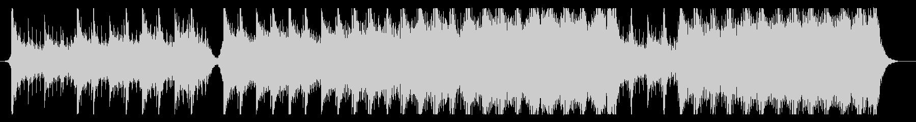 ハリウッド映画風の壮大なオーケストラ9の未再生の波形