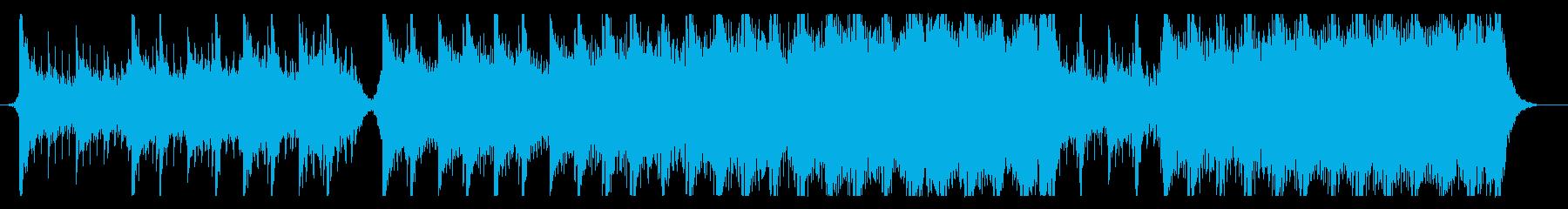 ハリウッド映画風の壮大なオーケストラ9の再生済みの波形