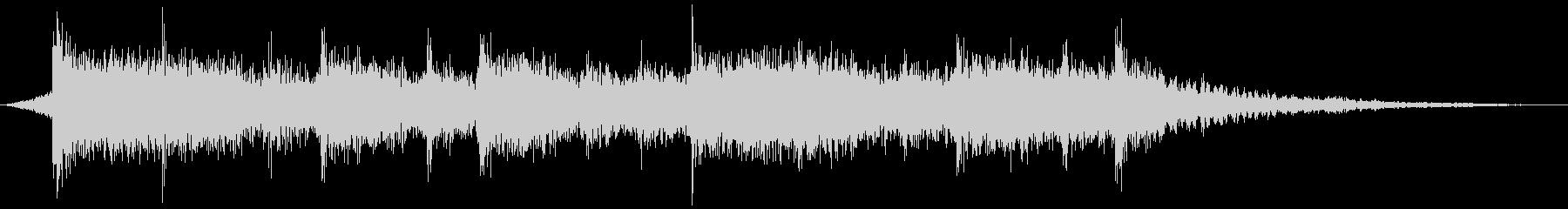 ジングル・ミッション終了時のシネマロックの未再生の波形