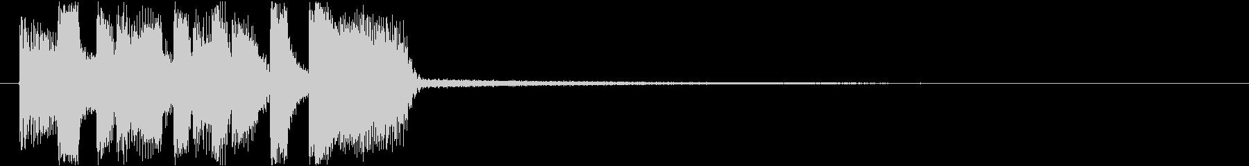トランペットのかっこいいアイキャッチの未再生の波形