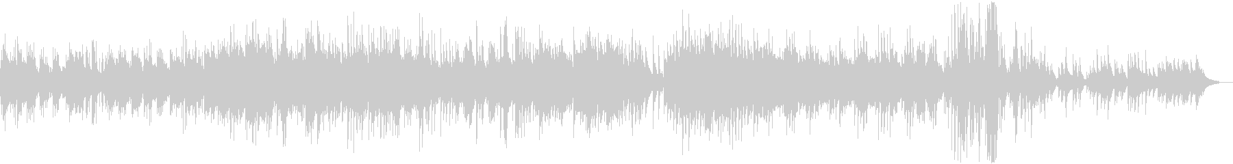 ピアノの非常に長い曲で、明るく、や...の未再生の波形