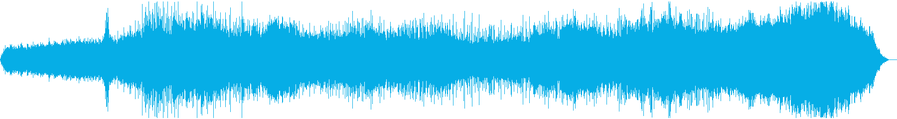 壮大で神秘的な広がりのあるアンビエントの再生済みの波形