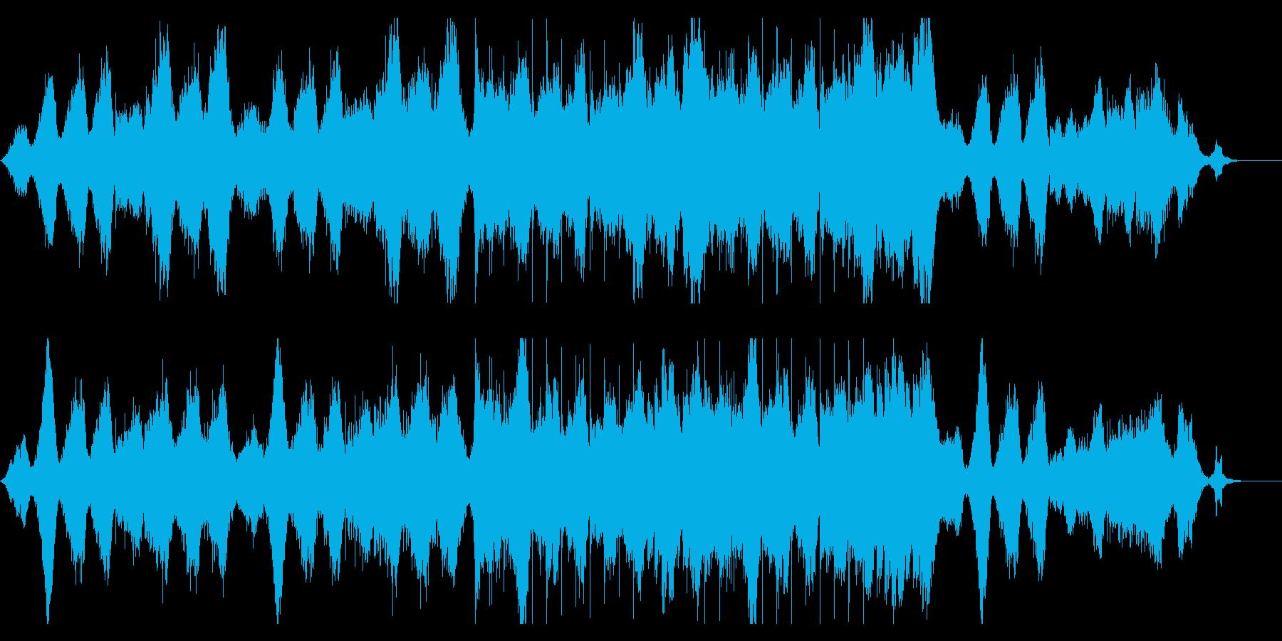 映画エクスマキナの世界を彷彿とさせる曲の再生済みの波形