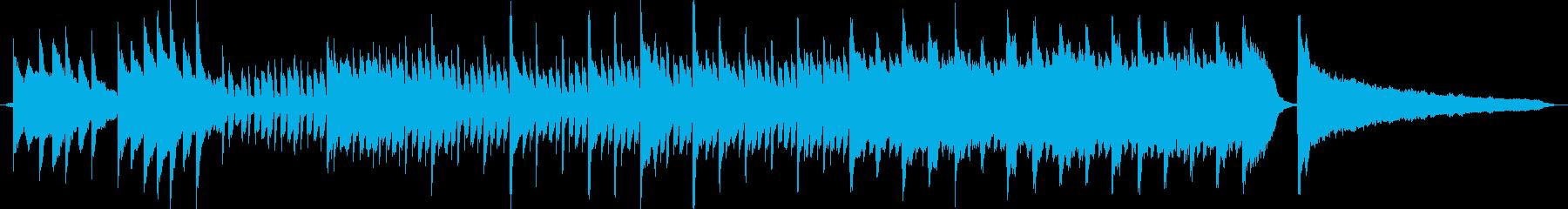 ちょっとノスタルジーなピアノサウンドの再生済みの波形