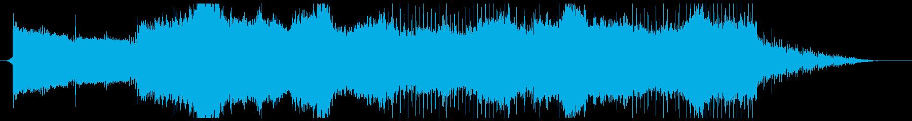 幻想的で優しいピアノのスローなチルアウトの再生済みの波形