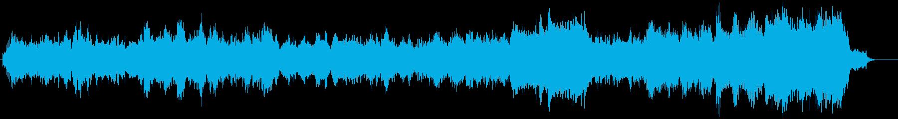 重厚なエピック系BGM。映画やゲームに!の再生済みの波形