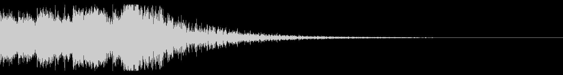和風 オーケストラヒット ジングル!06の未再生の波形