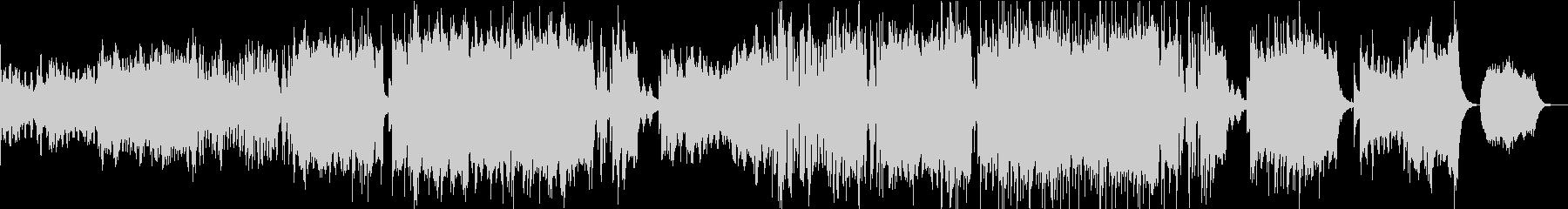 結婚式のムービーBGM(メモリー)の未再生の波形