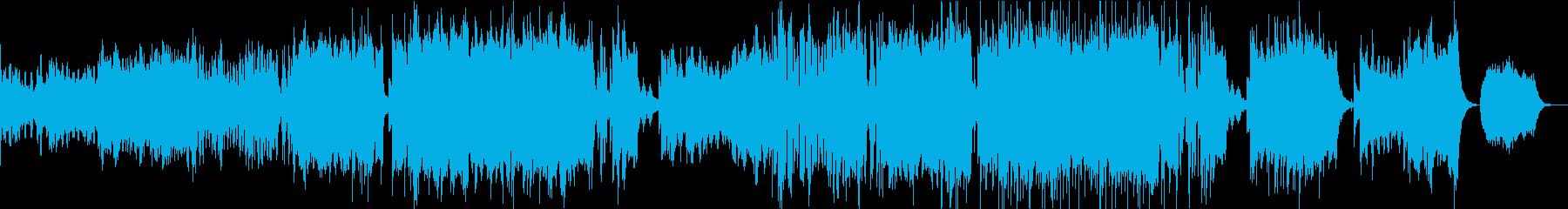 結婚式のムービーBGM(メモリー)の再生済みの波形