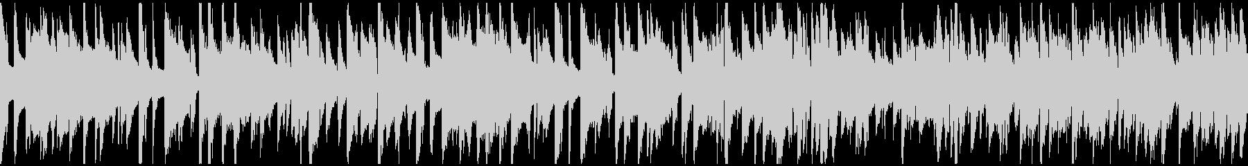ハードボイルドな探偵系ジャズ ※ループ版の未再生の波形