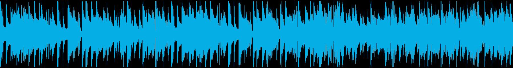 ハードボイルドな探偵系ジャズ ※ループ版の再生済みの波形