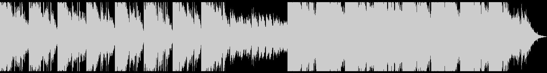 エレクトリックでかわいいメロのBGMの未再生の波形