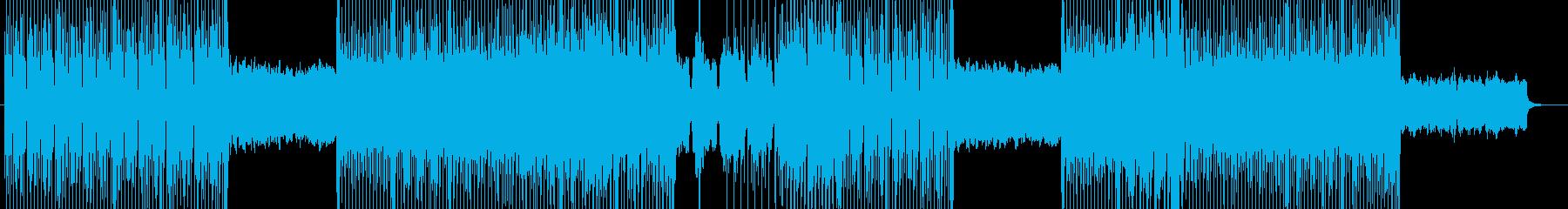 ハードロック、激しい、悲哀な作曲 295の再生済みの波形