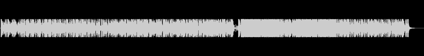 アップテンポでノリの良いサックス曲の未再生の波形