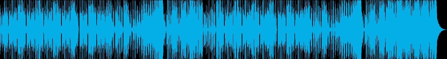 【CM】クールでファンキーなテクノの再生済みの波形