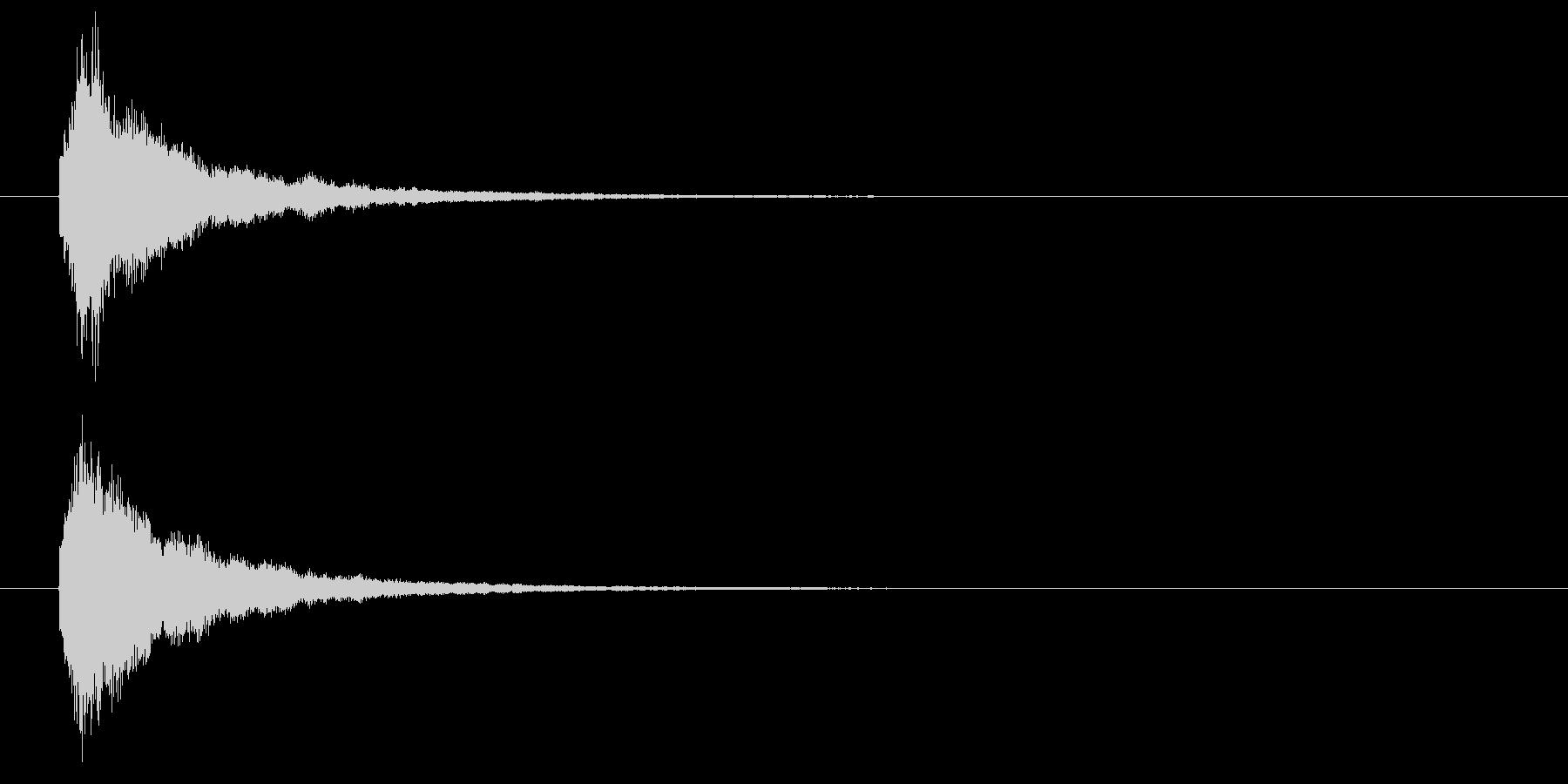 回復魔法の効果音1の未再生の波形