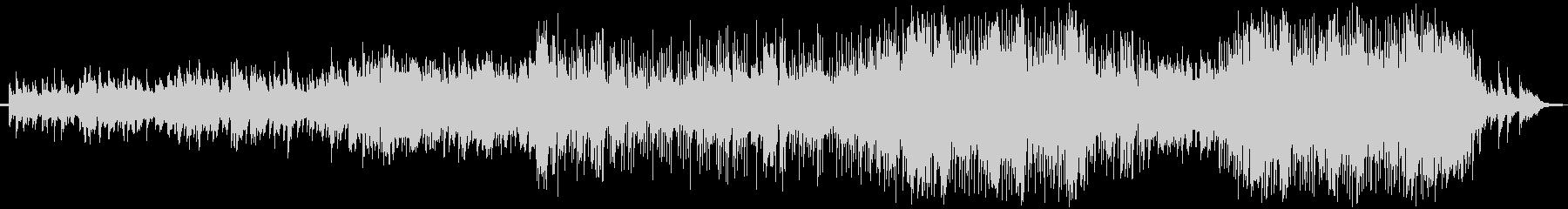 ピアノをメインにしたバラード曲です。の未再生の波形