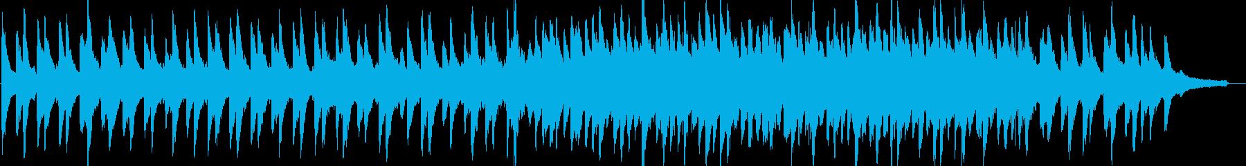 感動的・温かい・ピアノ・映像・イベント用の再生済みの波形