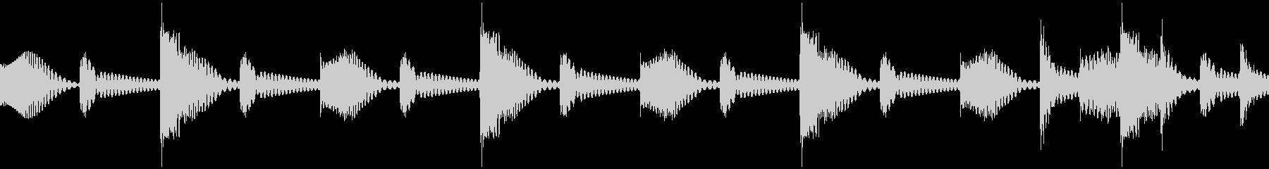 ムーブバージョン8の未再生の波形
