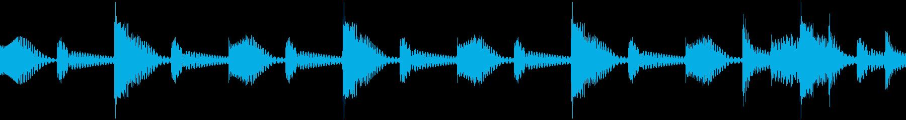 ムーブバージョン8の再生済みの波形