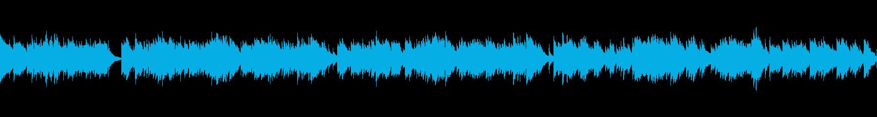 おだやかなギターソロ(ループ)の再生済みの波形