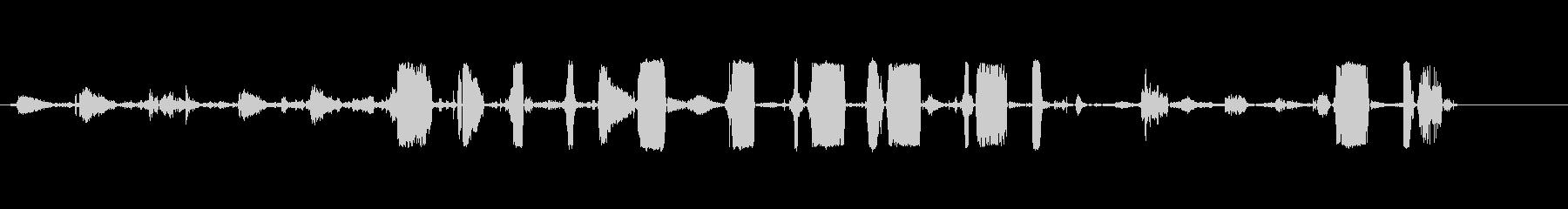 ロットワイラー;悪質なうなり声とう...の未再生の波形