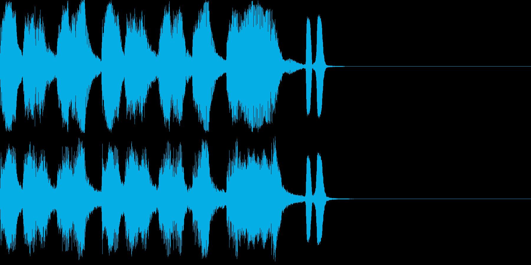 バラエティー向きショートネタです。の再生済みの波形