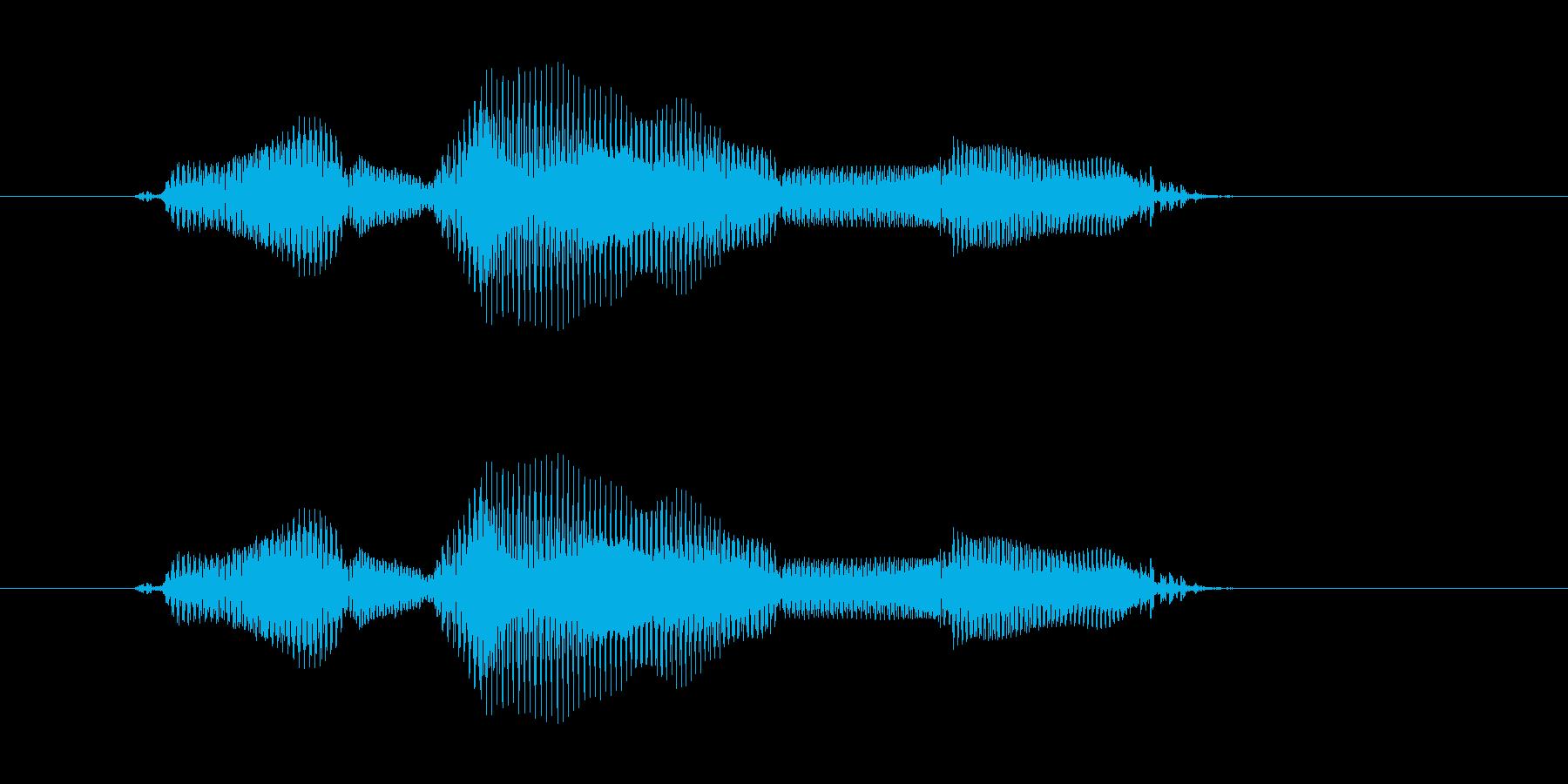 ただいまの再生済みの波形