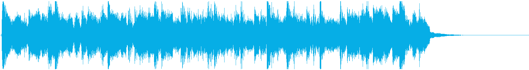 CM向け15秒ボサノバ■ややアップテンポの再生済みの波形