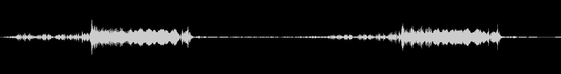 【電子音】【機械】ピキッ・・・の未再生の波形