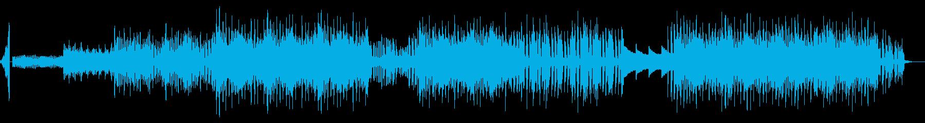 スパークドラム 夏のヒップホップバラードの再生済みの波形