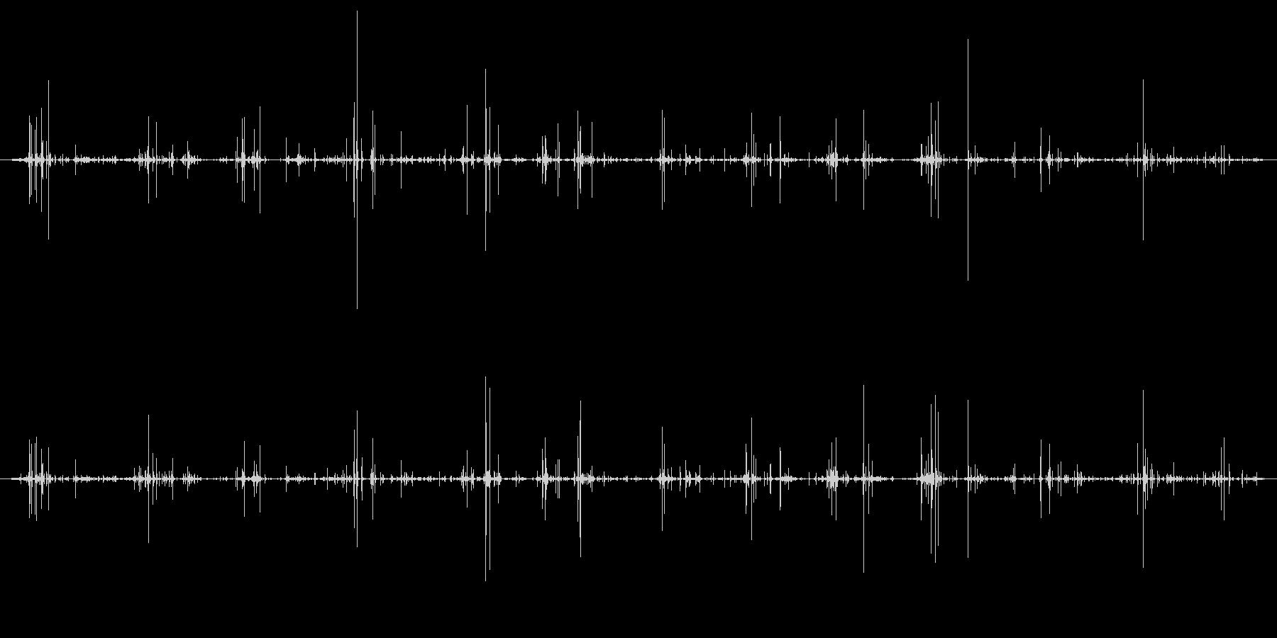 木 竹クラックシーケンス03の未再生の波形