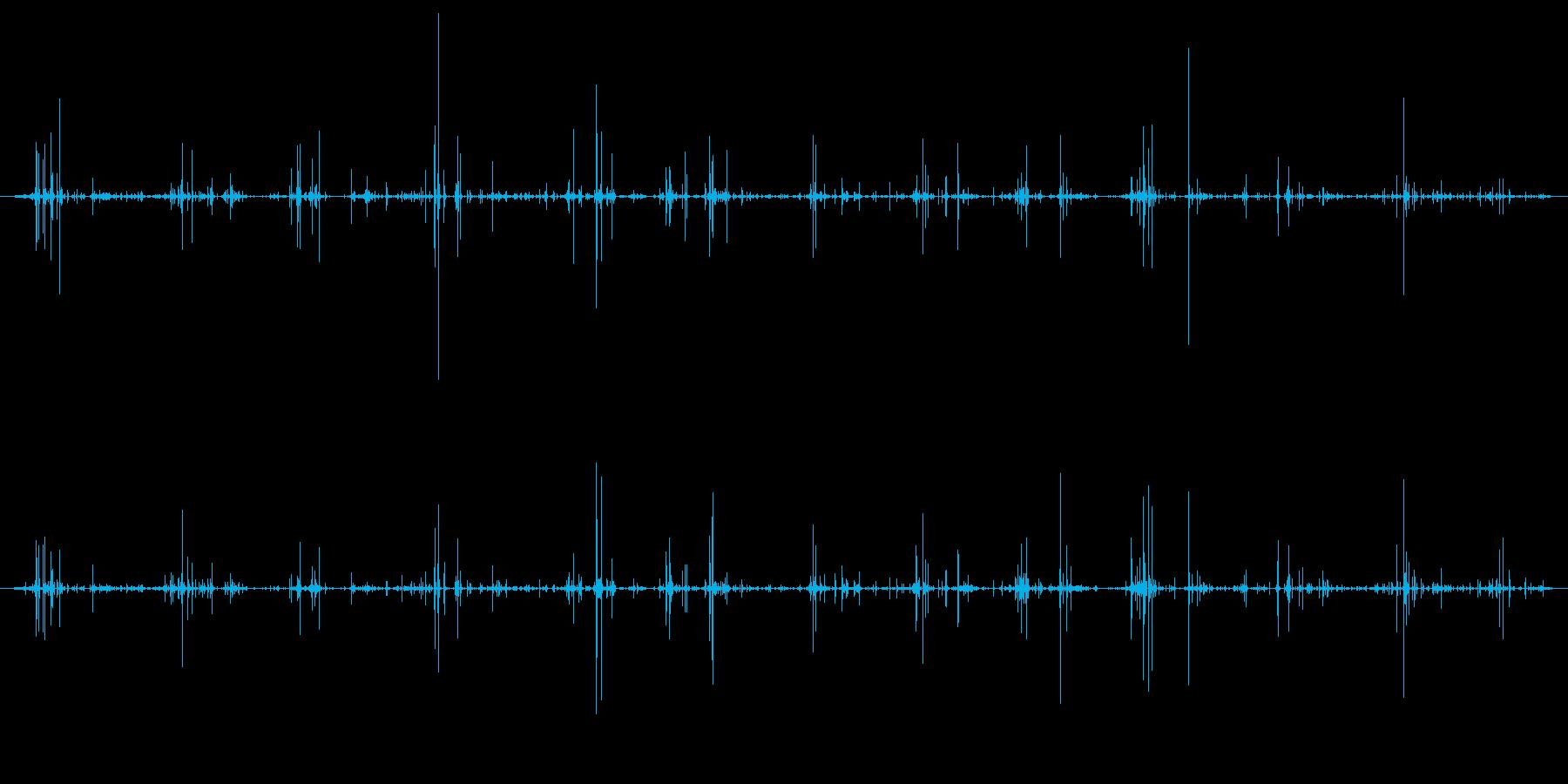 木 竹クラックシーケンス03の再生済みの波形