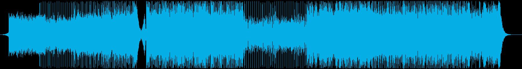 アップテンポ盛り上がるロック-PV演出の再生済みの波形