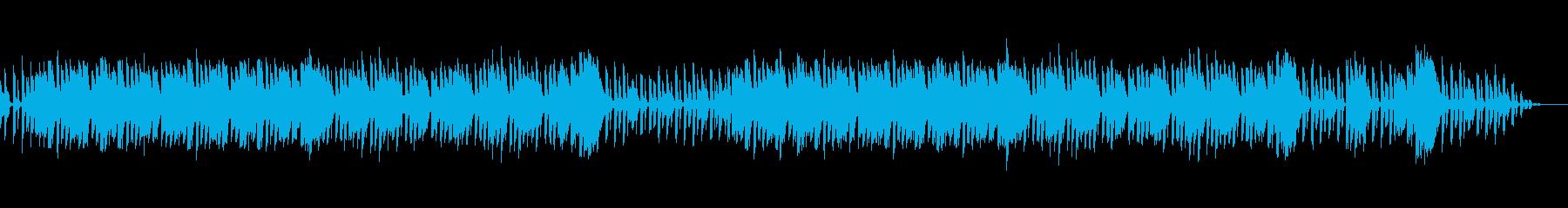 ビブラフォンとレゲエの再生済みの波形