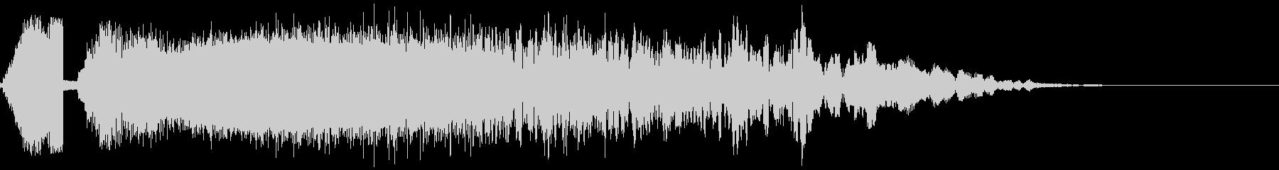 FMラジオジングルキットSWEEPERの未再生の波形