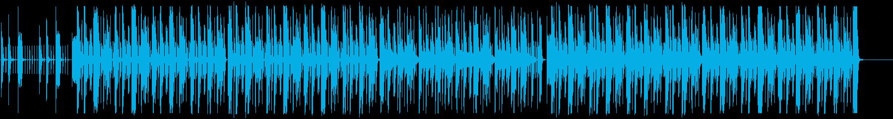 最先端でおしゃれなデザインに合うBGMの再生済みの波形