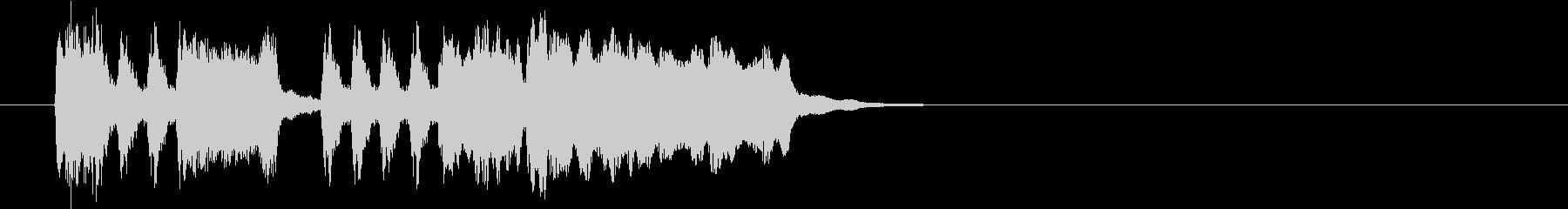 Tpファンファーレ 普通め速め弾みめの未再生の波形
