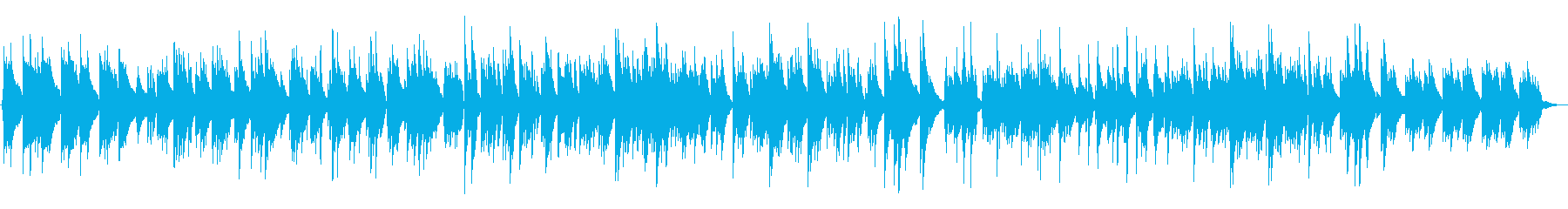 【生演奏】カフェ・アコースティックギターの再生済みの波形