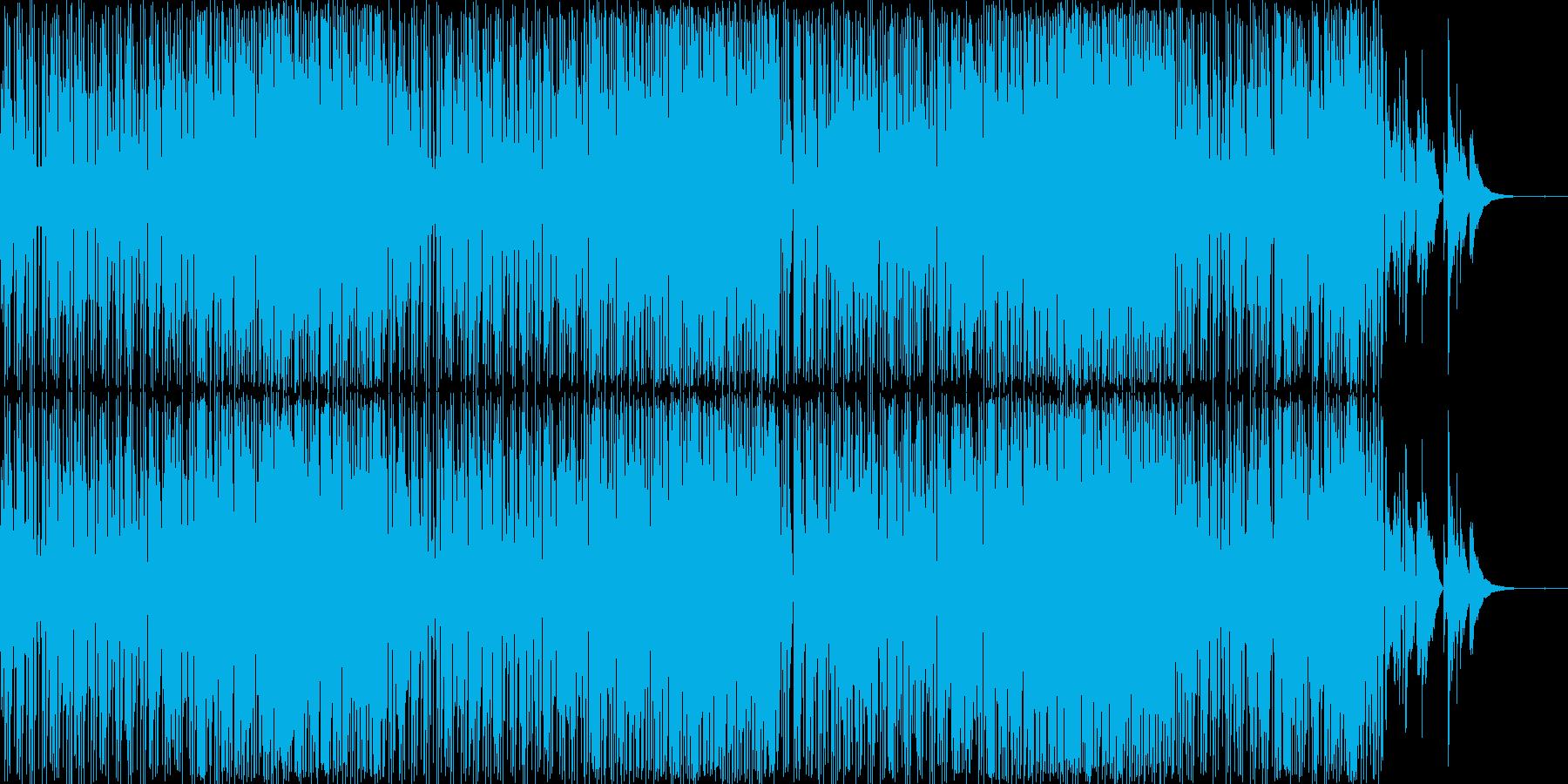 オシャレでちょっとレトロな雰囲気の楽曲…の再生済みの波形