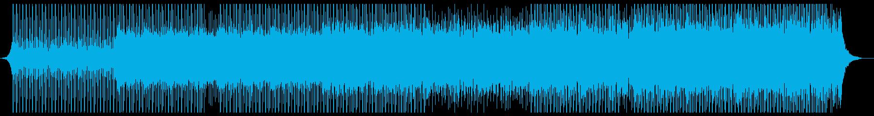 テクノロジーコーポレートの再生済みの波形