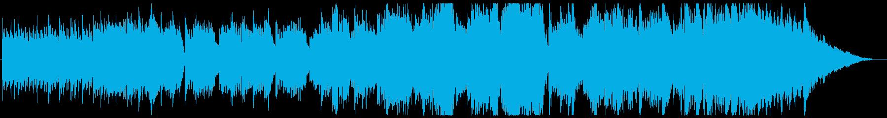 ノスタルジックでホノボノしたインストの再生済みの波形