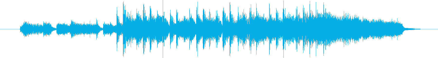 リゾート感あるボサノバポップの再生済みの波形